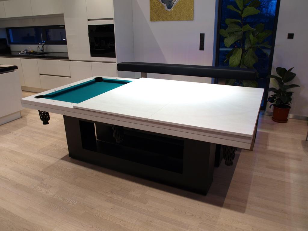 Casa moderna roma italy tavoli da biliardo per casa - Tavolo da biliardo trasformabile in tavolo da pranzo ...