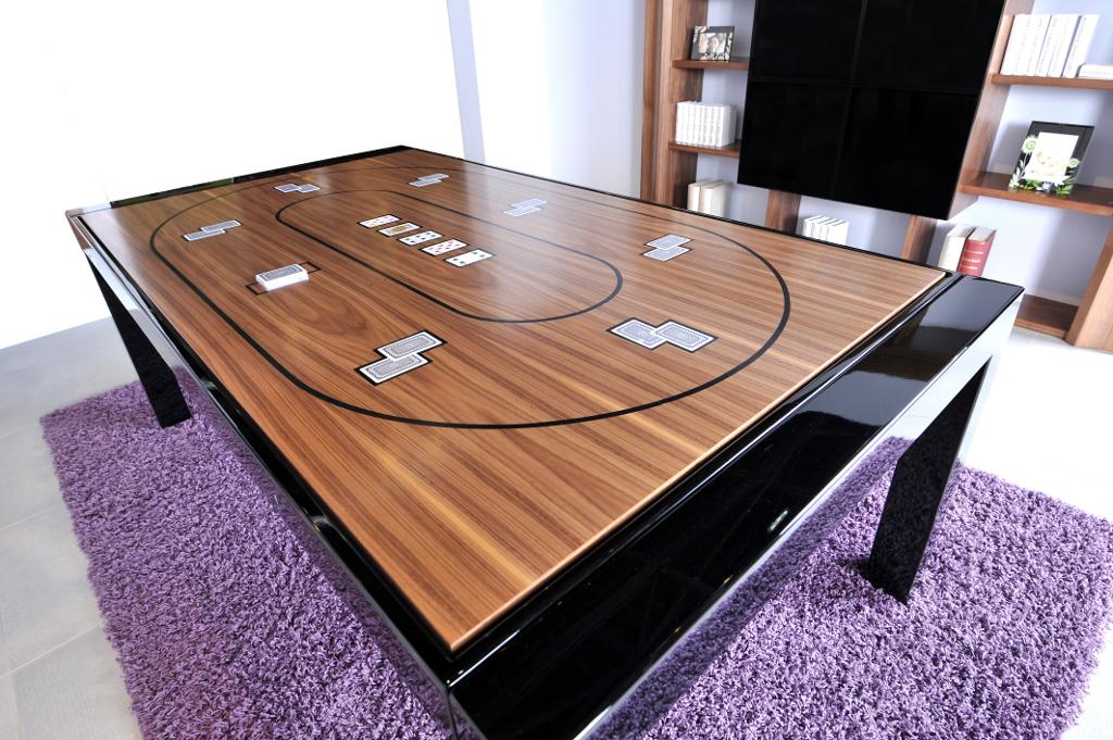 Tavolo da poker e da biliardo bl 180 metal biliardi - Tavolo da biliardo trasformabile in tavolo da pranzo ...
