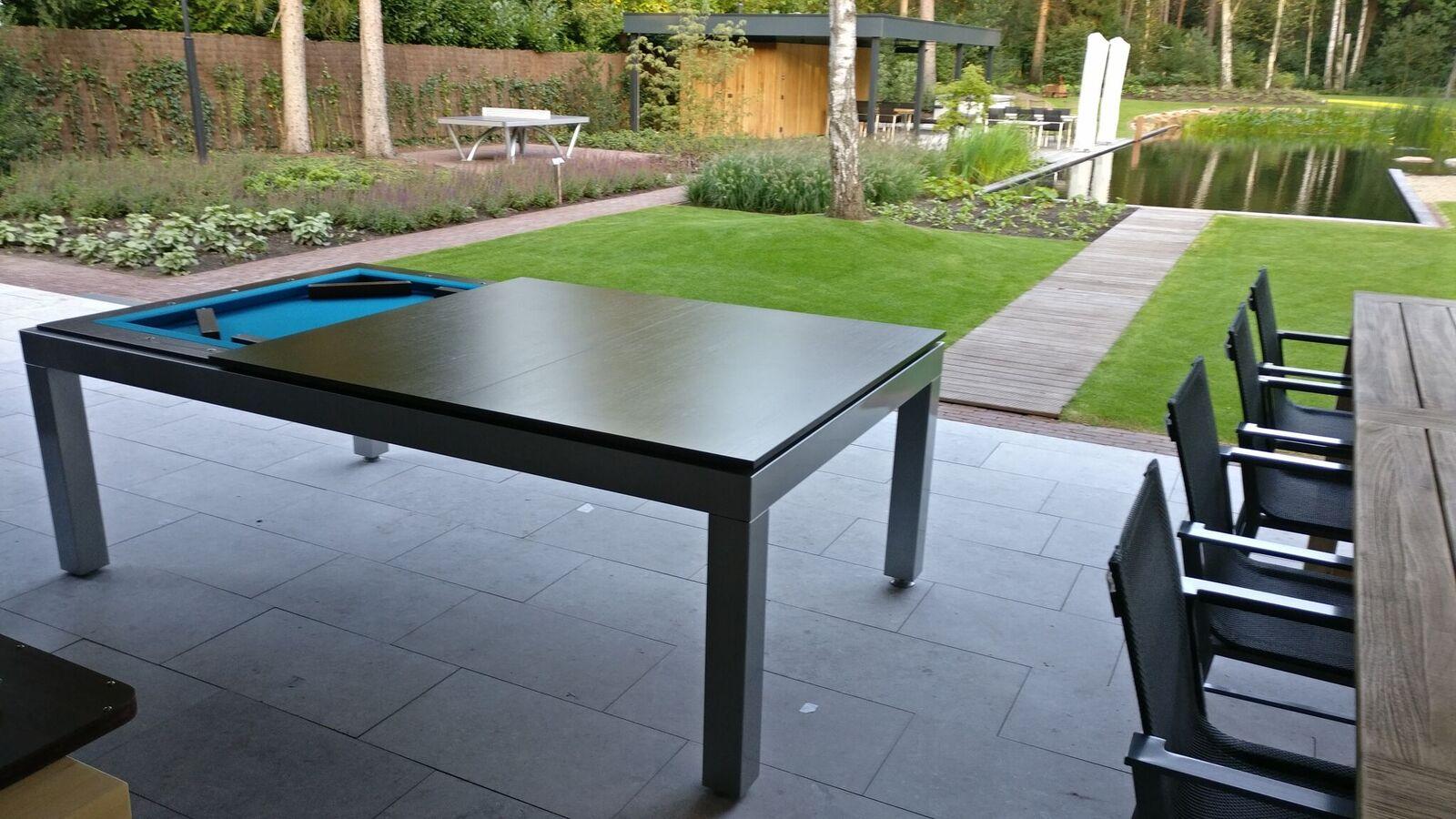 Biliardo tavolo outdoor biliardi - Dimensioni tavolo biliardo casa ...