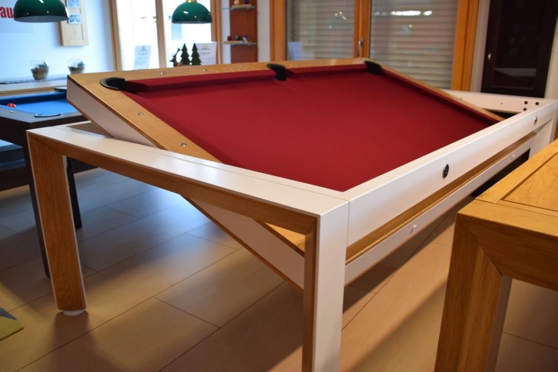Biliardo tavolo rotanti vienna biliardi - Dimensioni tavolo biliardo casa ...