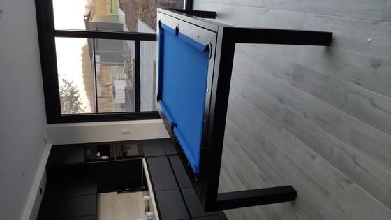 Biliardo tavolo bl 180 wood biliardi - Dimensioni tavolo biliardo casa ...