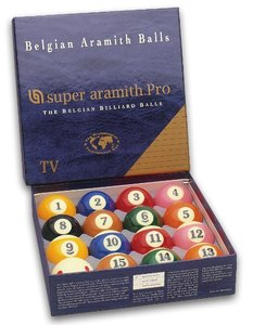 Bilie Pool Super Aramith pro TV